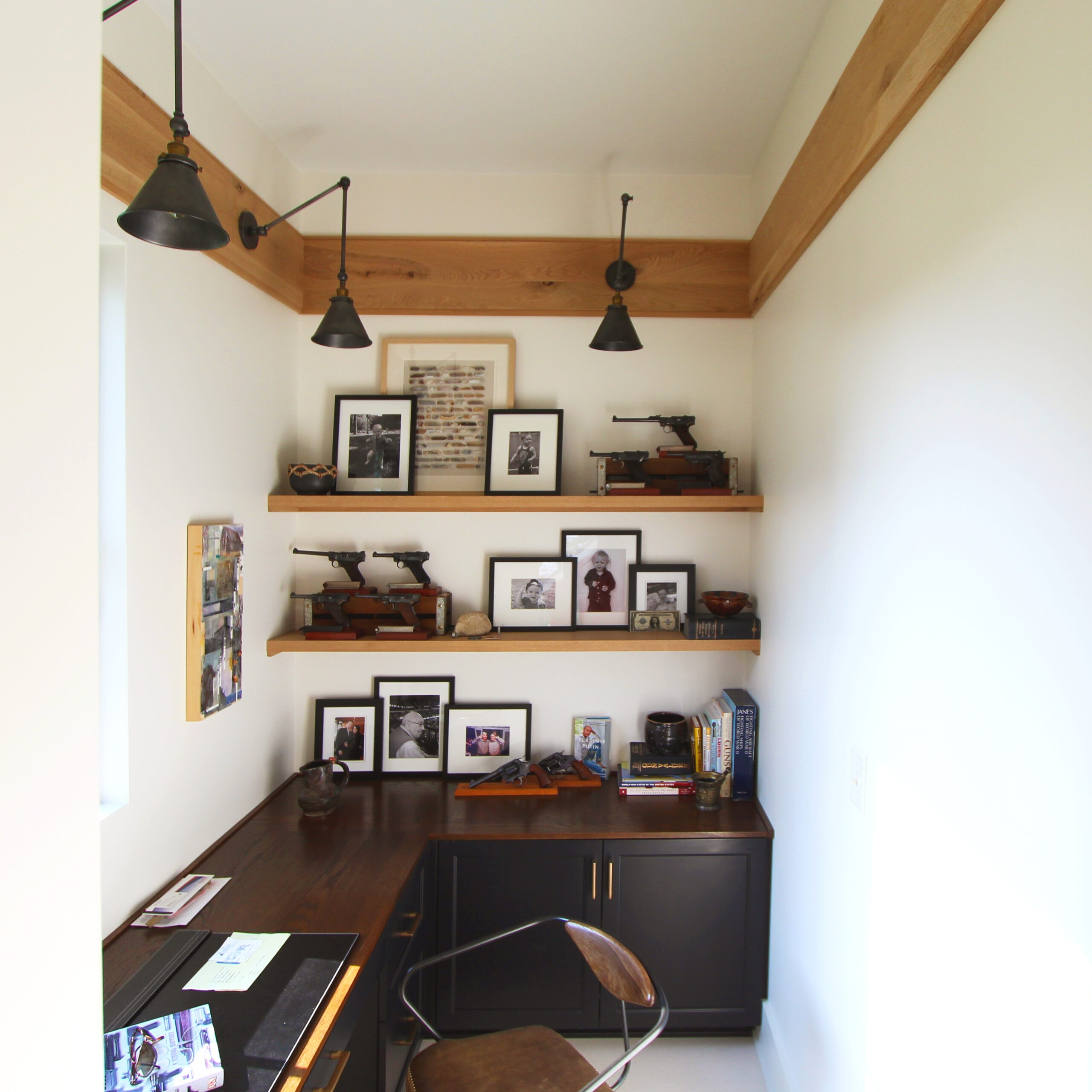 Custom Architectural Millwork Interior Photo by FAH