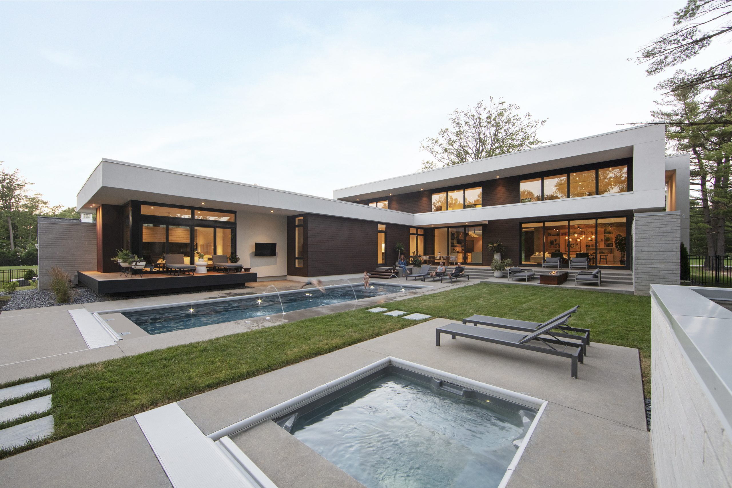 Thermally Modified Project Exterior by FAH