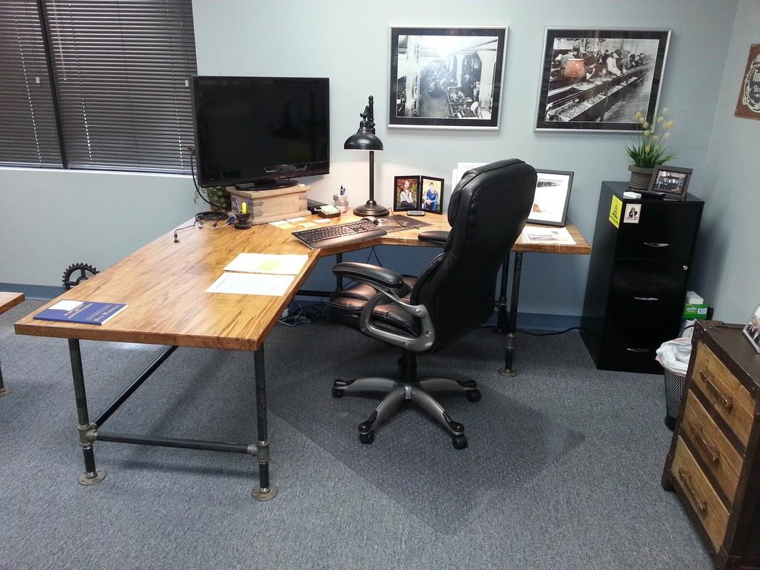 Custom Desk created by Fuller