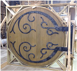 Hobbit Doors custom built by FAH