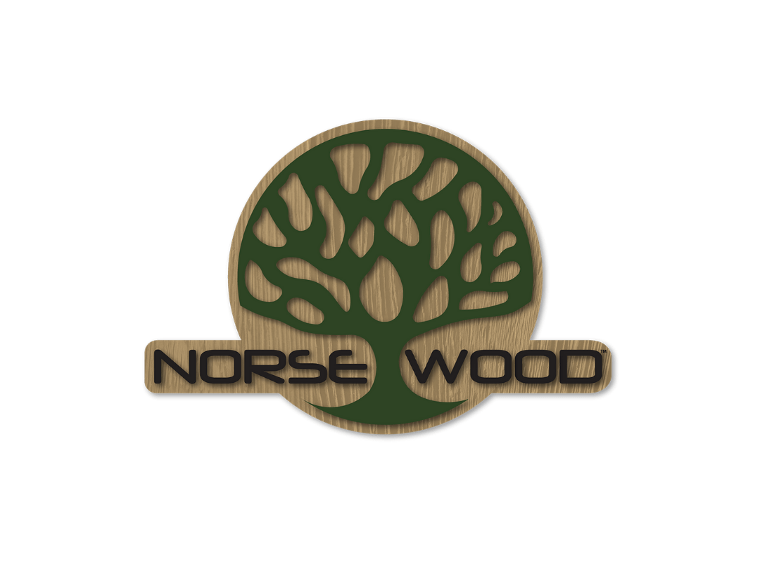 Norse Wood Logo Thermally Modified Hardwoods